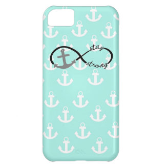 Infinity Anchor Stay Strong Collage iPhone 5C Case