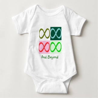 Infinity and Beyond Baby Bodysuit