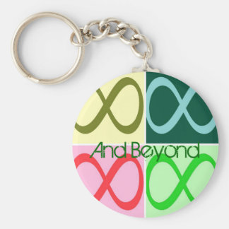 Infinity and Beyond Key Ring