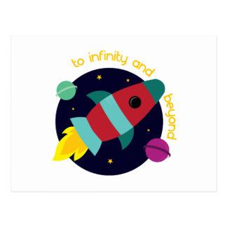 Infinity And Beyond Postcard