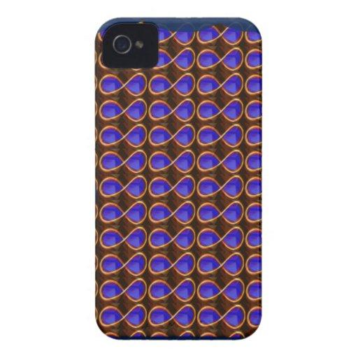 INFINITY Dark Purple Crystal Stone Healing GIFTS iPhone 4 Cases