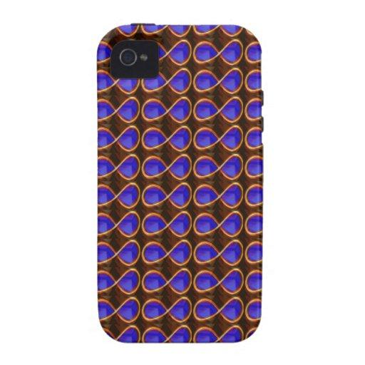 INFINITY Dark Purple Crystal Stone Healing GIFTS iPhone 4 Cover