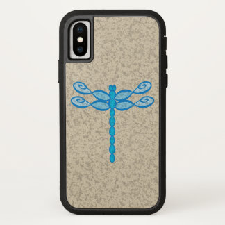 Infinity Dragonfly blue iPhone X Case