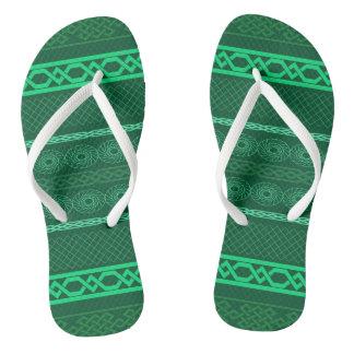 Infinity (green) flip flops