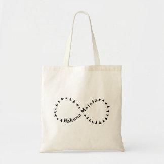 Infinity Hakuna Matata Budget Tote Bag