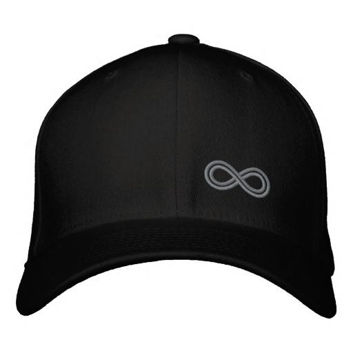Infinity Hat by Infinite ZZZ Embroidered Baseball Caps