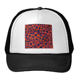 infinity iNFINITE Red Scrap MATHS COSMOS SCIENCE Mesh Hats