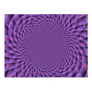Infinity Is Purple Postcard