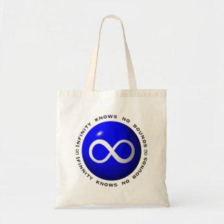 Infinity Knows No Bounds Tote Bag