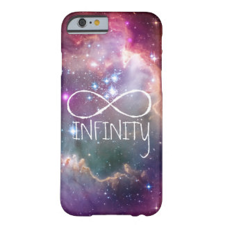 Infinity loop and galaxy space hipster background barely there iPhone 6 case