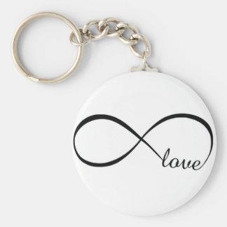 Infinity Love Key Ring