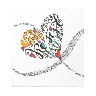 Infinity Love Notepads