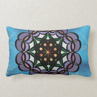 Infinity Mandala Lumbar Pillow