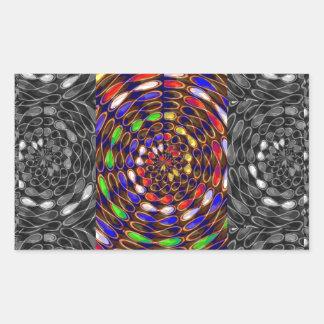 INFINITY Math Science Cosmos Universe GOD Haven Rectangular Sticker
