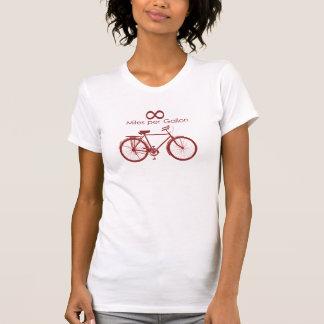Infinity Miles Per Gallon Bike T-S... Tshirts