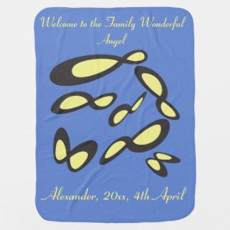 Infinity Minimalism Symbol - Personified Design Baby Blanket