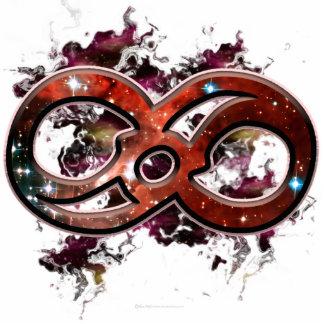 Infinity Nebula Standing Photo Sculpture
