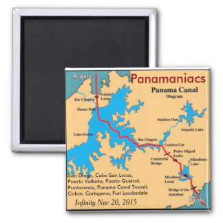 Infinity Panamaniacs fridge magnet