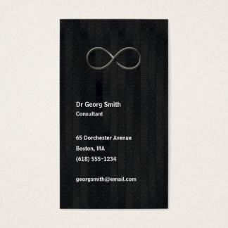 Infinity - Scientist Dark Grey Business Card