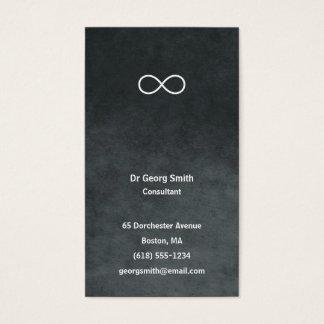 Infinity - Scientist Elegant Business Card