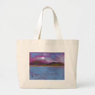 Infinity (seascape) large tote bag