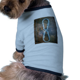 Infinity silver star dog t-shirt
