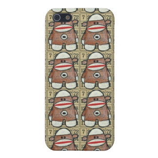 Infinity Sock Monkey iPhone Case Case For iPhone 5/5S