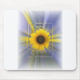 Infinity Sunflower Mouse Mat