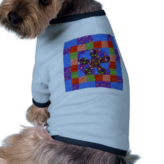 INFINITY Symbol Art Squares Rounds Waves GIFTS FUN Dog Tee