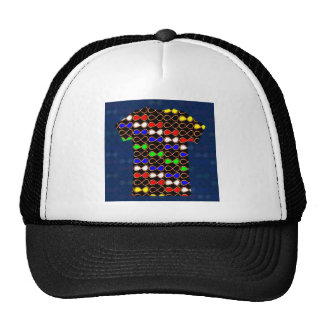 INFINITY Symbol Artistic Pattern GIFTS GREETINGS Hats