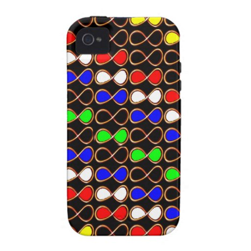 INFINITY Symbol Artistic Pattern GIFTS GREETINGS iPhone 4 Cases