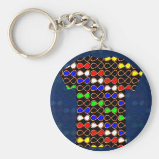 INFINITY Symbol Artistic Pattern GIFTS GREETINGS Keychain
