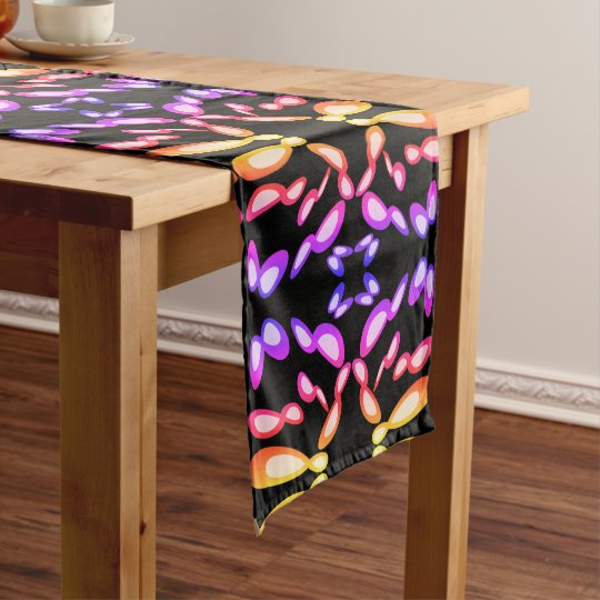Infinity Symbol Black Mirror - Time Is Endless Short Table Runner