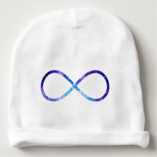 Infinity symbol nebula baby beanie