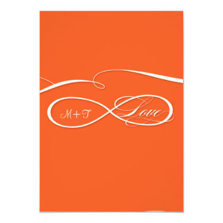Infinity Symbol Sign Infinite Love Wedding Set 13 Cm X 18 Cm Invitation Card