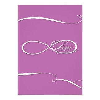 Infinity Symbol Sign Infinite Love Weddings Scroll 13 Cm X 18 Cm Invitation Card