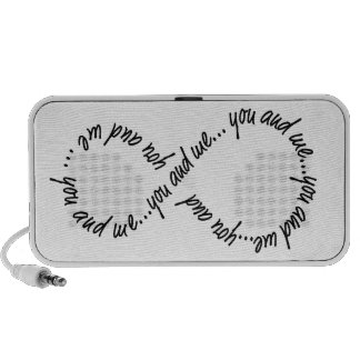 Infinity You and Me Doodle by OrigAudio Speakers