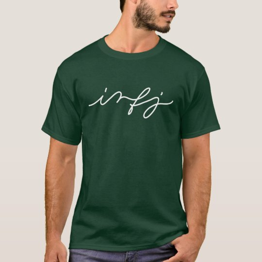 INFJ Personality in Calligraphy - Introvert Shirt