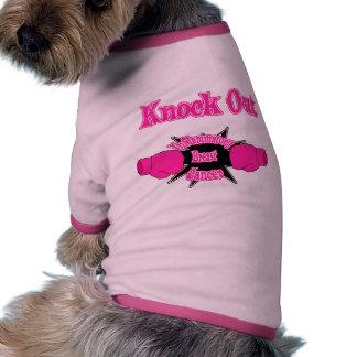 Inflammatory Breast Cancer Ringer Dog Shirt