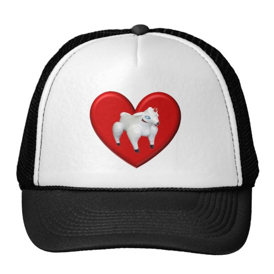 Inflatable Sheep Love Cap