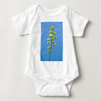 Inflorescence of Agave plant. Baby Bodysuit
