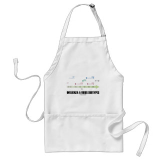 Influenza A Virus Subtypes (Health Medicine) Adult Apron