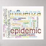 influenza flu Related Text Print