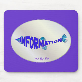 Info Fish Mouse Pad