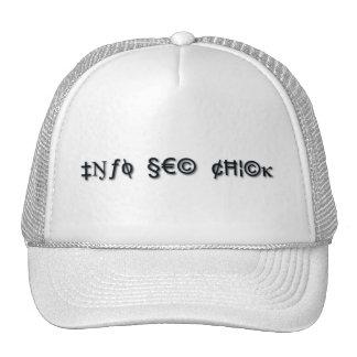 Info Sec Chick Cap