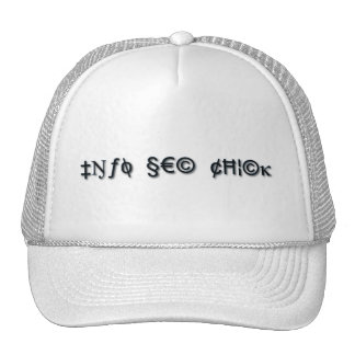 Info Sec Chick Trucker Hat