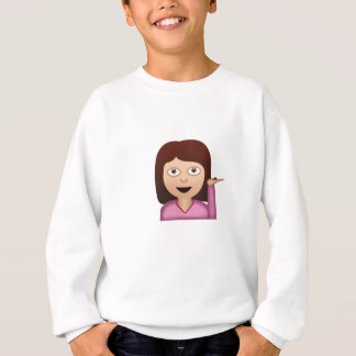 Information Desk Person Emoji Sweatshirt