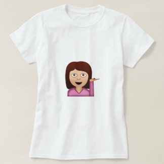 Information Desk Person Emoji T-Shirt