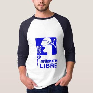 information libre T-shirt