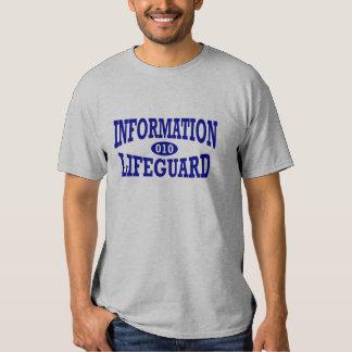 Information Lifeguard (Binary) Tees